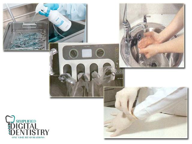 استریل لوازم دندانپزشکی - پیشگیری ازهرگونه انتقال آلودگی